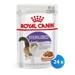 Pachet Royal Canin Sterilised, 24 x 85 g