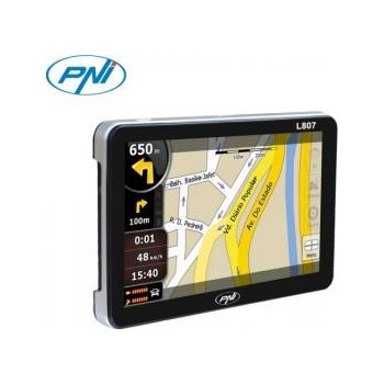 GPS PNI L807 portabil 7 inch Negru pni-l807