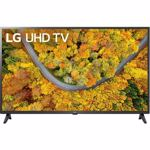 Televizor LED LG Smart TV 43UP75003LF 108cm 4K Ultra HD Negru