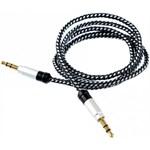 Cablu audio Tellur, 3.5mm, 1 m, Argintiu