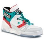 Sneakers CONVERSE - Erx 260 Mid 165077C White/Turbo Green/Enamel Red