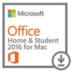 Microsoft Office Home and Student 2016 pentru MAC, 32/64bit, Multi-Language, Licenta ESD (Electronica)