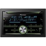 CD player auto Pioneer FH-X730BT, negru-albastru