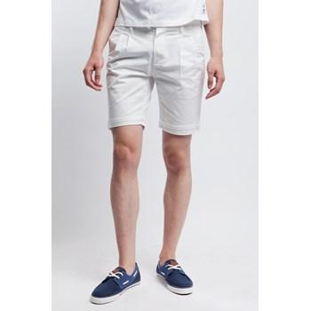 Pantaloni scurti barbati Bona Vita albi