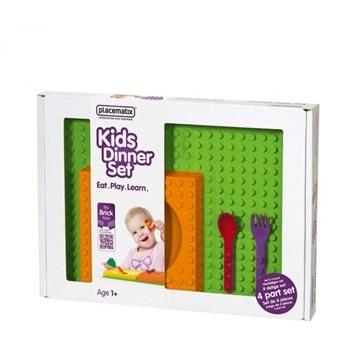 Placematix Set de hranire Kids, bol, lingura si furculita