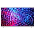 Televizor LED Philips 43PFS5823/12, 108 cm, Full HD, Smart TV, Wi-Fi, Ci+, Clasa energetica A++, Argintiu metalizat