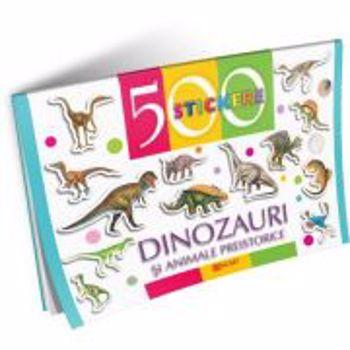 Dinozauri si alte animale preistorice. 500 stickere