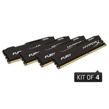 KINGSTON Memorie HyperX FURY 32GB (4x8GB) 2400MHz DDR4 CL15, black