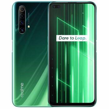 "Telefon Mobil Realme X50 5G, Procesor Snapdragon 765G Octa-Core, IPS LCD Capacitive touchscreen 6.57"", 6GB RAM, 128GB Flash, Camera Quad 48+8+2+2MP, Wi-Fi, 5G, Dual Sim, Android (Verde)"