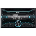 Radio CD auto Sony WX920BT, extra bass, bluetooth, NFC, FLAC, Siri Eyes Free, amplificator, 4 x 55W, Black