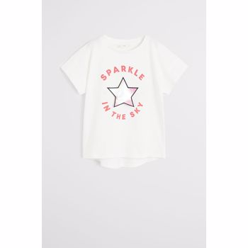 Mango Kids - Tricou copii Window 110-164 cm