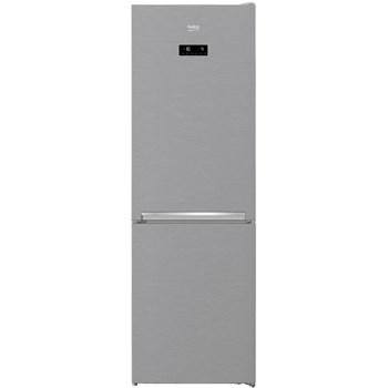 Combina frigorifica Beko RCNA366E30ZXB, 324 litri, Clasa A++, NoFrost, Touch control, H 185.9 cm, Argintiu