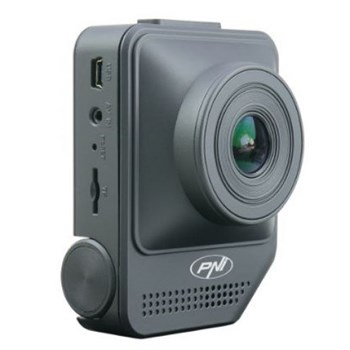 Camera auto DVR PNI Voyager S800M, Full HD, Negru