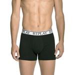 Replay 2 Pack Stretch Cotton Boxer Shorts Culoarea Black