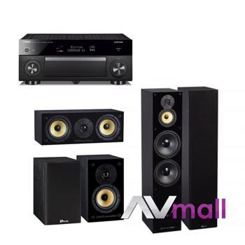Pachet Receiver AV Yamaha RX-A1080 + Pachet Boxe Davis Acoustics Balthus 90 + Boxe Davis Acoustics Balthus 30 + Boxa Davis Acoustics Balthus 10