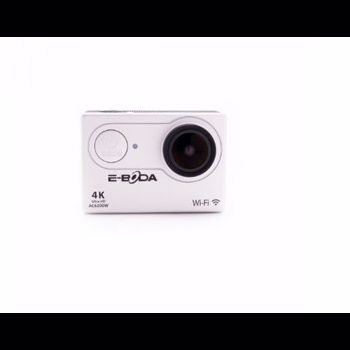 "Camera Video Sport E-Boda AC6200W, 4K Ultra HD, Wi-Fi, Ecran 2"" LCD, 16MP, Rezistenta la apa (Gri)"