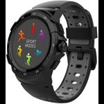 Smartwatch MyKronoz ZeSport 2 GPS, Optica HR, Negru/Gri