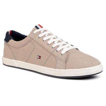 Teniși TOMMY HILFIGER - Iconic Long Lace Sneaker FM0FM01536AEP Stone BGE
