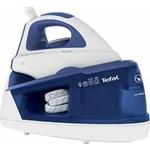 Tefal Statie de calcat Maxi Purely & Simply SV5030, talpa ceramica, 2200 W, 1.2 l, 100 g/min, alb/albastru