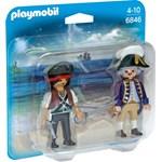 Playmobil-Figurine,Pirat si soldat,2buc/set