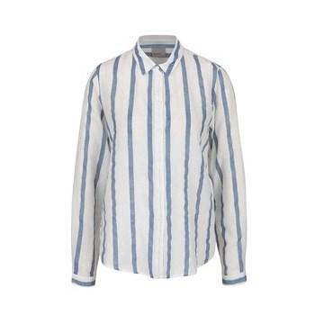 Camasa alb&albastru deschis VERO MODA Stripy