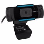 Camera Web AQIRYS Phase, CMOS, 2.1MP, Full HD 30fps, USB, Microfon (Negru)