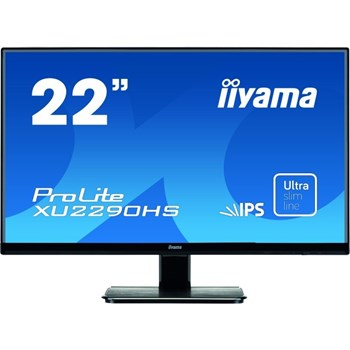 Monitor LED 21.5 Iiyama ProLite XU2290HS-B1 Full HD 5ms Negru xu2290hs-b1