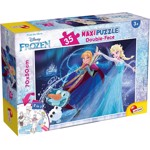 Puzzle de colorat maxi - Frozen (35 piese), LISCIANI