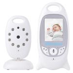 Video monitor camera VB601 Wireless, Baby Monitor, Night Vision, Microfon, Monitorizare temperatura, Alb