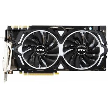 Placa video MSI GeForce GTX 1080, Armor, 8GB, DDR5, 256bit
