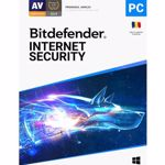 Bitdefender Internet Security 1 dispozitiv + 1 dispozitiv gratuit, 1 an, Licenta noua, Retail