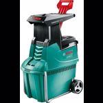 Tocator silentios de resturi vegetale Bosch AXT 25 TC 2500 W 4.5 cm + foarfeca pentru gard viu + manusi de lucru 060080330B