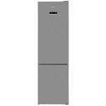 Combina frigorifica Arctic AK60406E40NFMT, 362 l, NoFrost, Display, Air Flow, Clasa E, H 202 cm, Argintiu