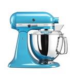 Mixer cu bol Artisan Elegance 5KSM175PSECL, 4,8 L, Crystal Blue, 300W, KitchenAid