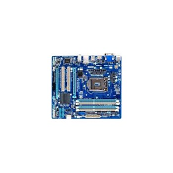GIGABYTE Gigabyte GA-B75M-D3H (rev. 1.0) - Motherboard - micro ATX - LGA1155 Socket - B75 - USB 3.0 - Gigabit Ethernet - onboard graphics (CPU required) - HD Audio (8-channel)
