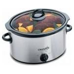 Slow cooker Crock-Pot 37401BC-I, 3.5 l, 2 Setari gatit, Vas de ceramica detasabil, Inox