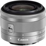 Canon EF-M 15-45mm f/3.5-6.3 IS STM, argintiu