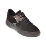 Pantofi FLAVIA PASSINI negri, 102303, din piele intoarsa