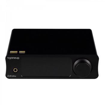 Convertor Digital/Analog (DAC) Topping DX3 Pro V2 negru