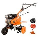 Motosapa Ruris Dac 7000ACC1 7CP 56-83cm + roti cauciuc + roti met 300 fara manicot + rarita ajustabila 70002016acc1