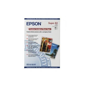 Premium Semigloss Photo Paper Epson DIN A3+ 20 Blatt c13s041328