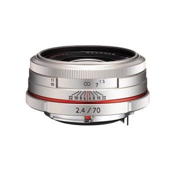 Pentax Ricoh 70mm F2.4 DA HD Limited - argintiu