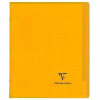 Caiet A5,48f,mate,coperta transp,Koverbook