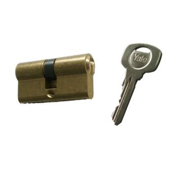 Cilindru de siguranta Standard Yale 500 A 01 F, 3 chei, 5 pini, alama