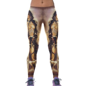 CL526 Colanti sport tip leggings, cu model Barbarian Princess