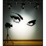Sticker Decorativ Perete Eyes