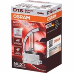 Set 2 becuri auto xenon Osram Xenarc Night Breaker Laser Next Generation 66140XNL D1S +200% 2 bucati/set