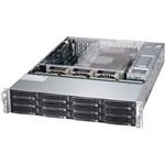 Server Supermicro SuperStorage 6028R-E1CR12N, rack 2U, 2x Procesor Intel® Xeon® Processor E5-2630 v4 2.2GHz Broadwell , 8x 32GB DDR4 RDIMM, 4x 600GB SAS 15k RPM + 6x 2TB SATA 7.2k RPM