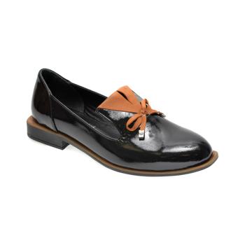 Pantofi FLAVIA PASSINI negri, 372029, din piele naturala lacuita