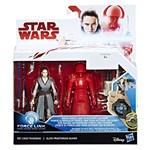 Star Wars, Set 2 figurine Rey si Elite Praetorian Guard